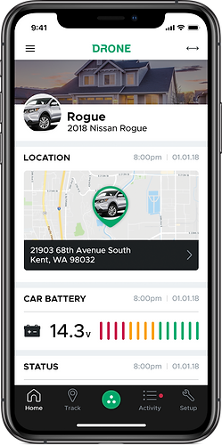 smartphone remote start your vehicle