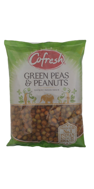 COFRESH GREEN PEAS SPICY WITH PEANUTS 6X325 GM