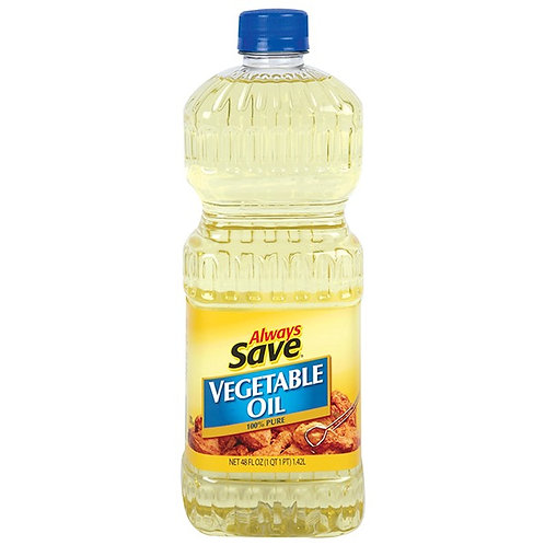 AS VEGETABLE OIL 48 OZ