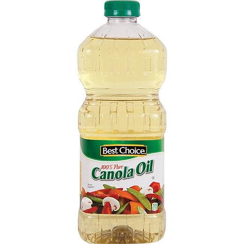 BC PURE CANOLA OIL 48 OZ