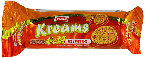 PARLE KREAMS GOLD ORANGE 70 GM