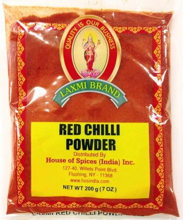 LAXMI  RED CHILI POWDER 200 GM