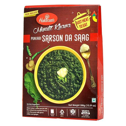 HALDIRAM READY TO EAT SARSON DA SAAG 300GM