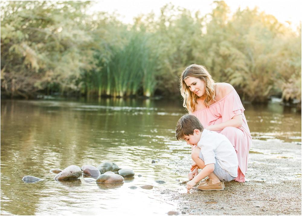 dreamy and soft family photos
