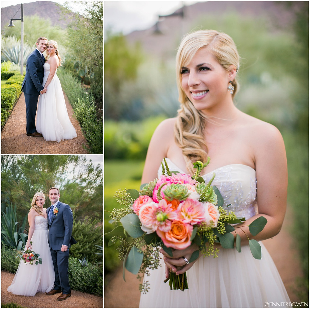el chorro wedding, bride and groom, navy suit, arizona wedding