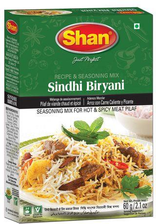 SHAN SINDHI BIRYANI SINDHI 60G