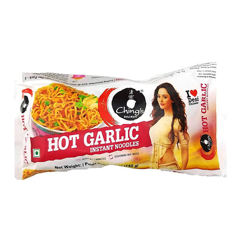 CHINGS VALUE PACK HOT GARLIC NOODLES 240G*
