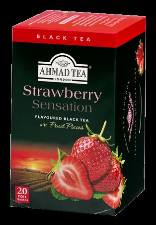 AHMAD TEA STRAWBERRY 20TB