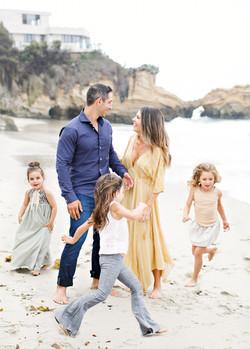 family photography on the beach