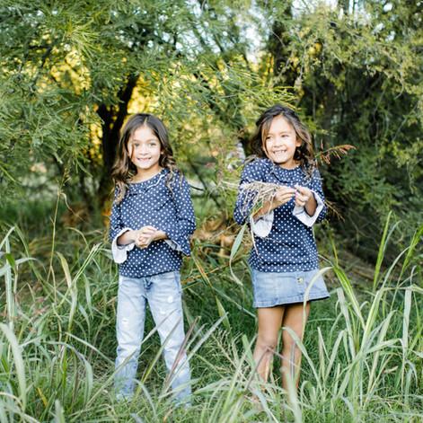 Fields of green - Adorable family photos in Scottsdale Arizona