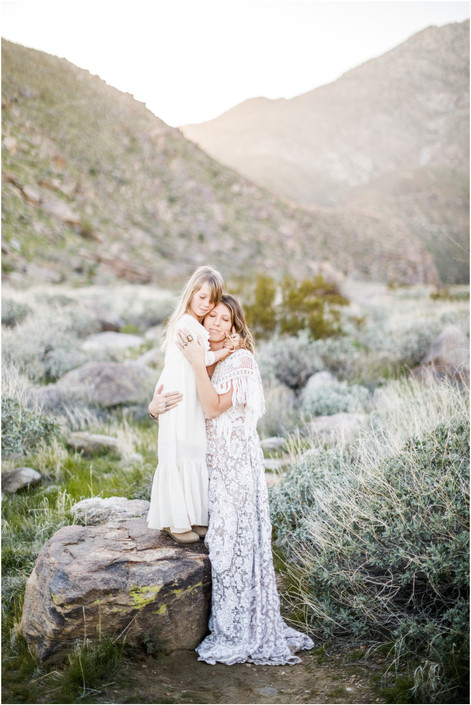 Mother Daughter Photo Shoot in Palm Springs, California