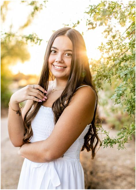 Allison's Senior Photos - Sunkissed Lifestyle Grad Photoshoot in Scottsdale, AZ