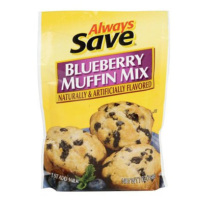 AS BLUEBERRY MUFFIN MIX 7 OZ