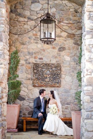 Desert Mountain wedding photo