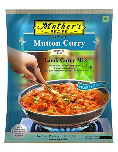 MOTHER'S READY TO COOK LAMB CURRY 100G