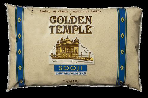 GOLDEN TEMPLE SOOJI 2KG (CREAM OF WHEAT)