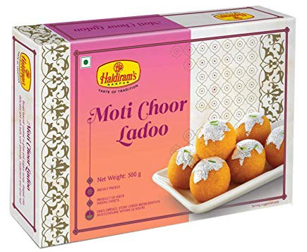 HALDIRAM MOTI CHOOR LADDO 360G