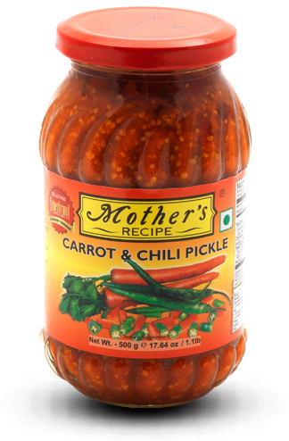MOTHER'S PICKLE CARROT & CHILI 500G