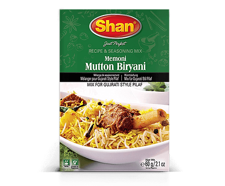 SHAN MUTTON BIRYANI  60GM