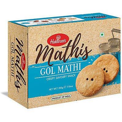 HALDIRAM GOL MATHI 200GM*