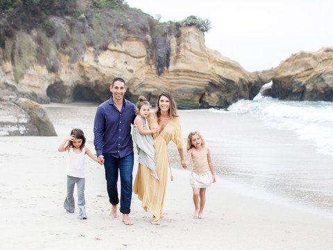 Laguna Beach Family Photo Session
