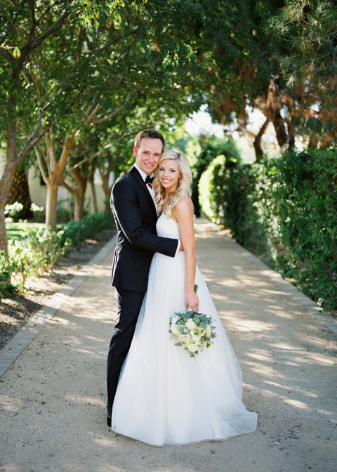 Brooke & Evan's Gorgeous Backyard Wedding in Scottsdale Arizona