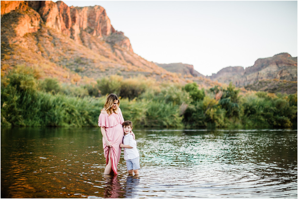 mom and son pictures - maternity portraits in scottsdale
