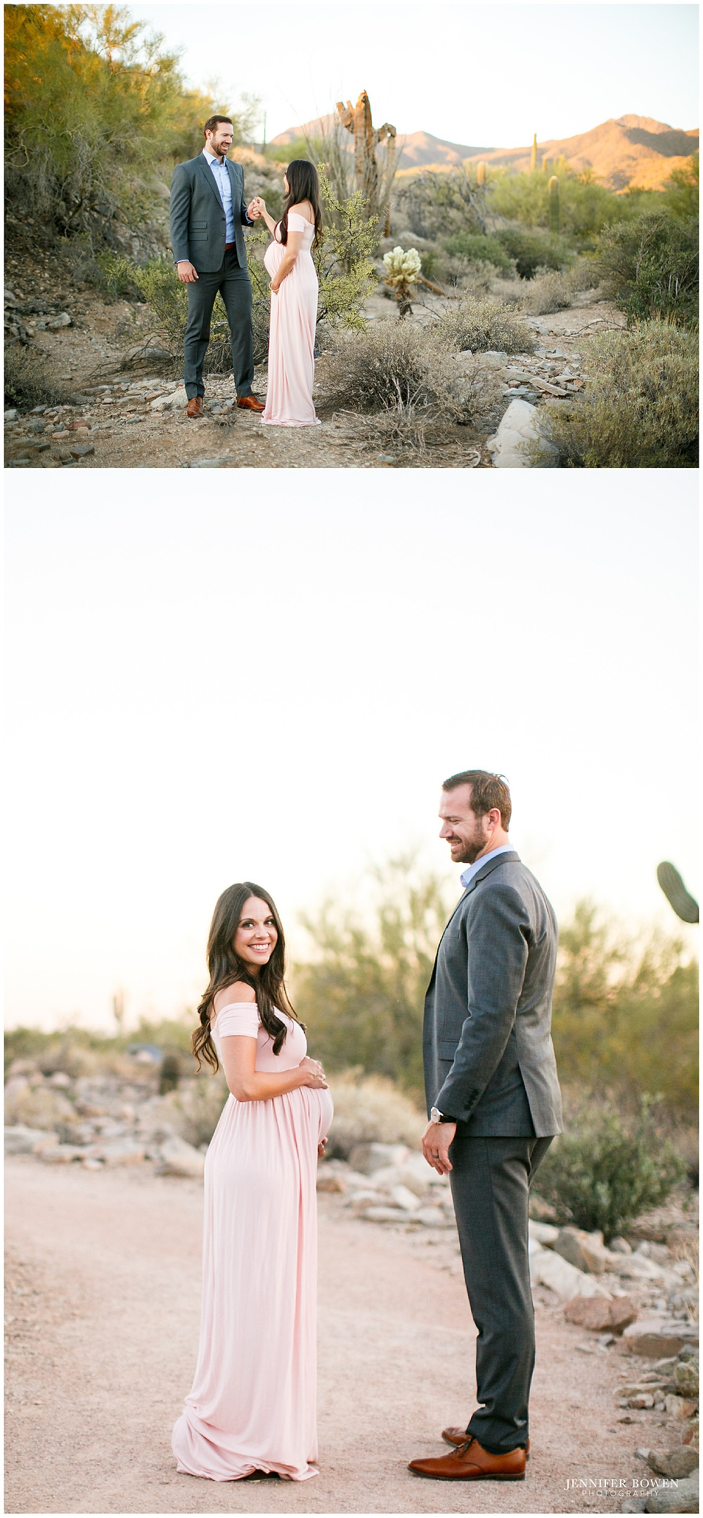 Desert maternity session in Scottsdale