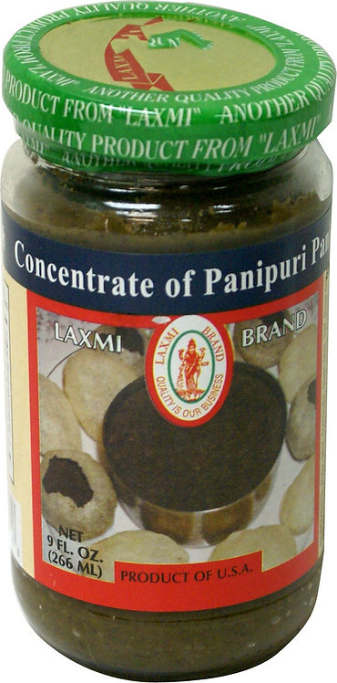 LAXMI PANIPURI CONCENTRATE. 9 OZ