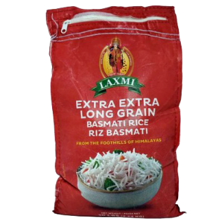 LAXMI EXTRA LONG GRAIN BASMATI RICE 10LB