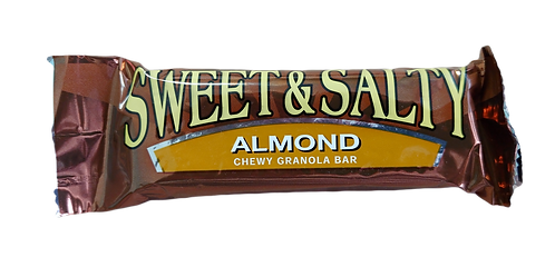 BC SWEET & SALTY ALMOND CHEWY  SINGLE BAR
