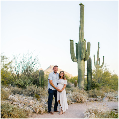From Belly to Baby - Maternity Photos & Newborn Session in Scottsdale, Arizona