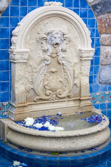 Fountain at Desert Mountain Clubhouse