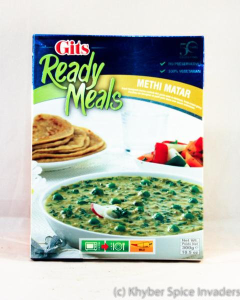 GITS READY TO EAT METHI MUTTER 300GM
