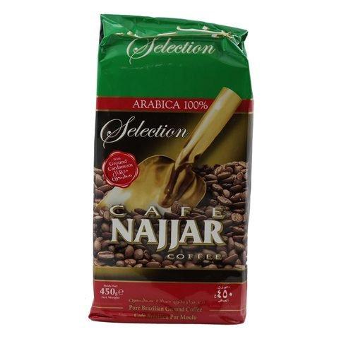 COFFEE NAJJAR PLAIN 450G