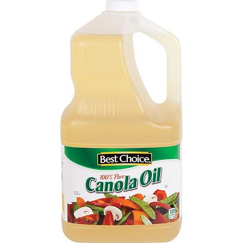 BC CANOLA OIL 128 OZ