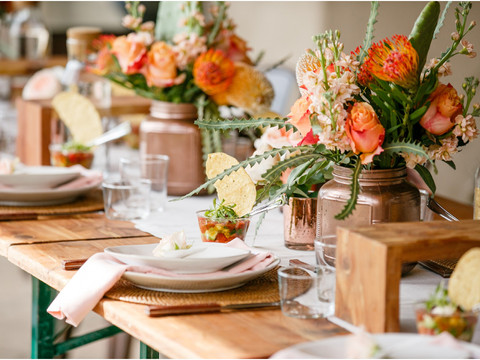 Sunshine & Mimosas: Intimate backyard bridal shower in Paradise Valley, Arizona