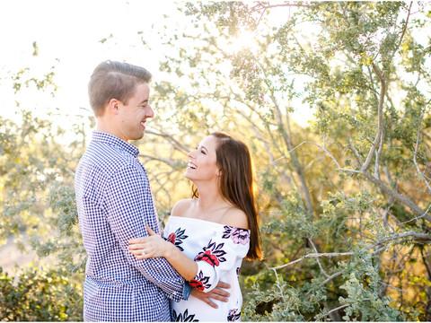 Alexa & Nik's Engagement Photos in Scottsdale
