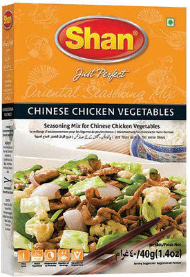 SHAN CHINESE CHICKEN VEGETABLES 50G