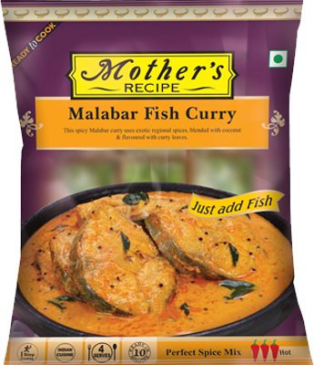 MOTHER'S READY TO COOK MALABAR FISH CURRY 100G