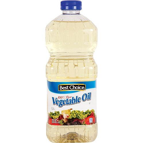 BC PURE VEGETABLE OIL 48 OZ