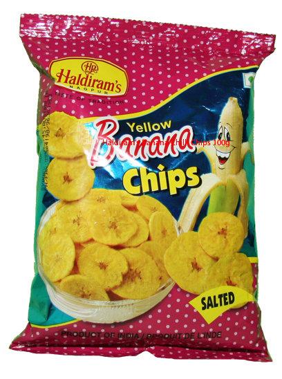 HALDIRAM YELLOW BANANA CHIPS 400GM