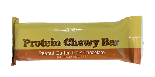 BC PEANUT BUTTER DARK CHOCOLATE CHEWY PROTEIN  SINGLE BAR