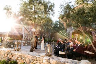 Sunset ceremony at Chiracahua Desert Mtn