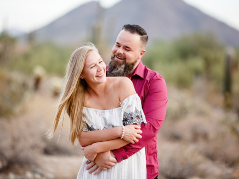 Desert Engagement Session in Scottsdale, Arizona