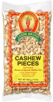 LAXMI CASHEW PIECES 20X400 GM