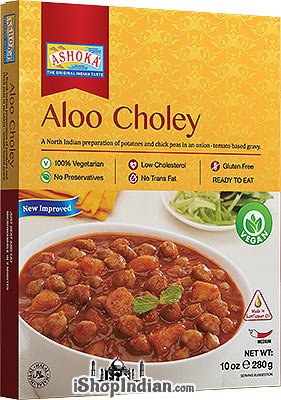 ASHOKA READY TO EAT ALOO CHOLE 280G