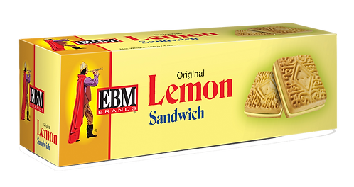 EBM COOKIE LEMON SANDWICH  130GM