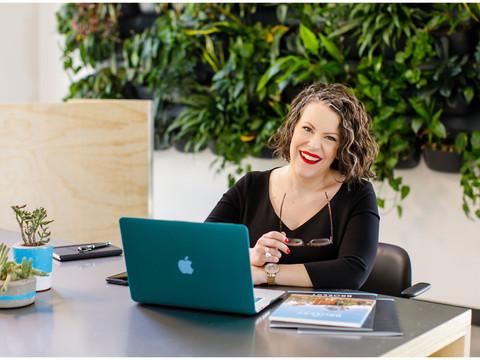 Lifestyle Headshots & Branding Images for Phoenix Realtor Jenn Newman of The Brokery