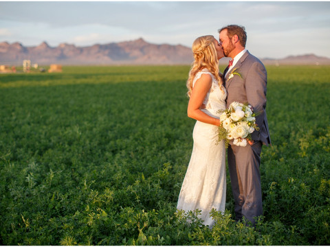 All-American Wedding on Arizona Family Farm